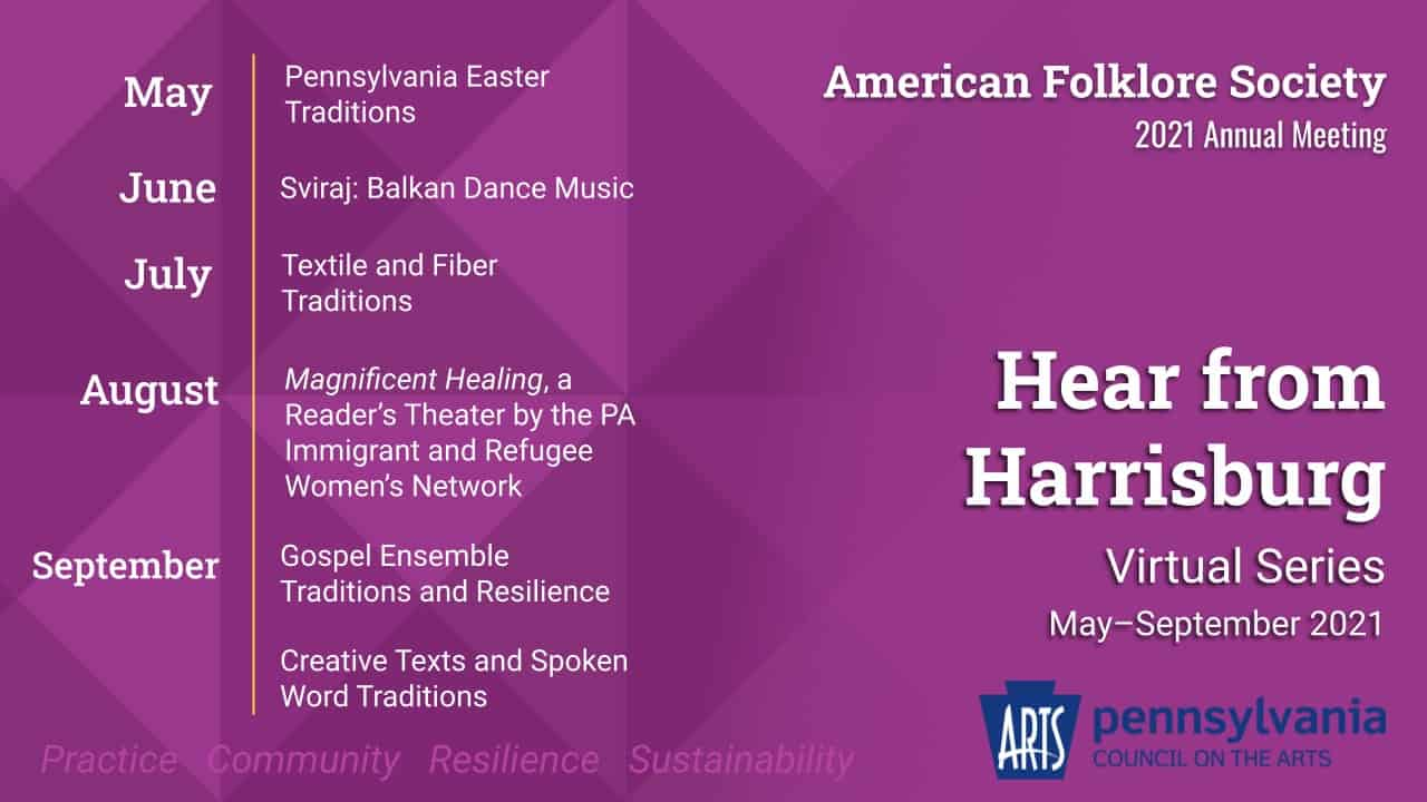Hear from Harrisburg promotional graphic