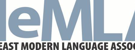grey-blue letters spelling NeMLA